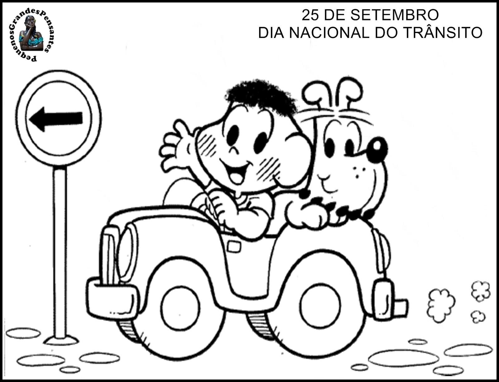 Well-known Pequenos Grandes Pensantes.: Semana Nacional do Trânsito  FO17