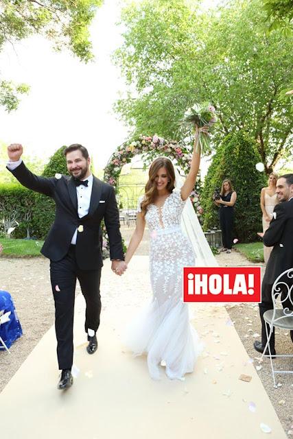 La romántica boda de Clara Alonso en el Palacio de Aldovea