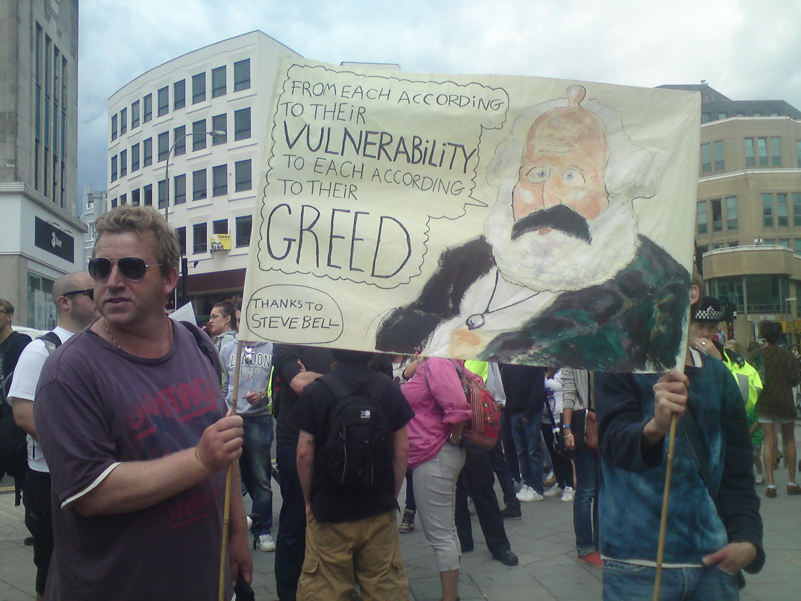 Tony Greenstein's Blog: Hundreds In Brighton March Against