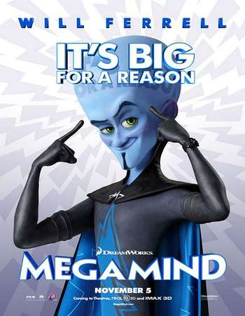 Megamind 2010 Hindi Dual Audio 450MB BluRay 720p ESubs HEVC Free Download Watch Online downloadhub.in