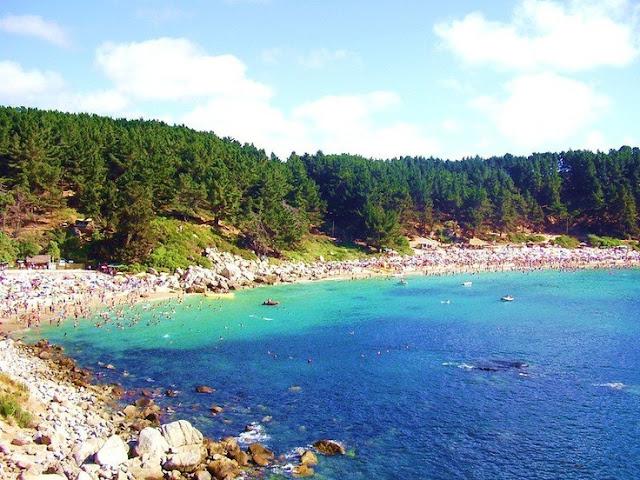 Praia El Canelillo no Chile
