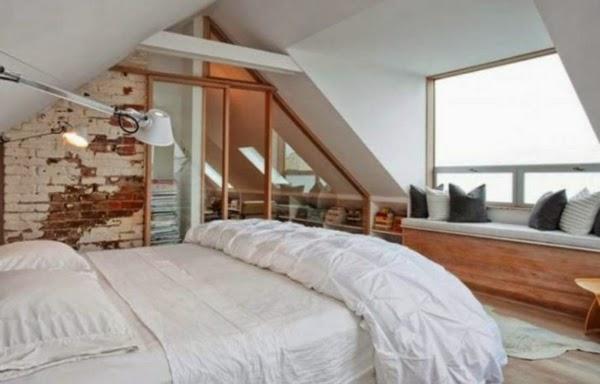 lindo dormitorio ático