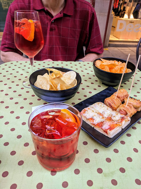What to do in Trieste: Aperitivo at Caffe Eppinger