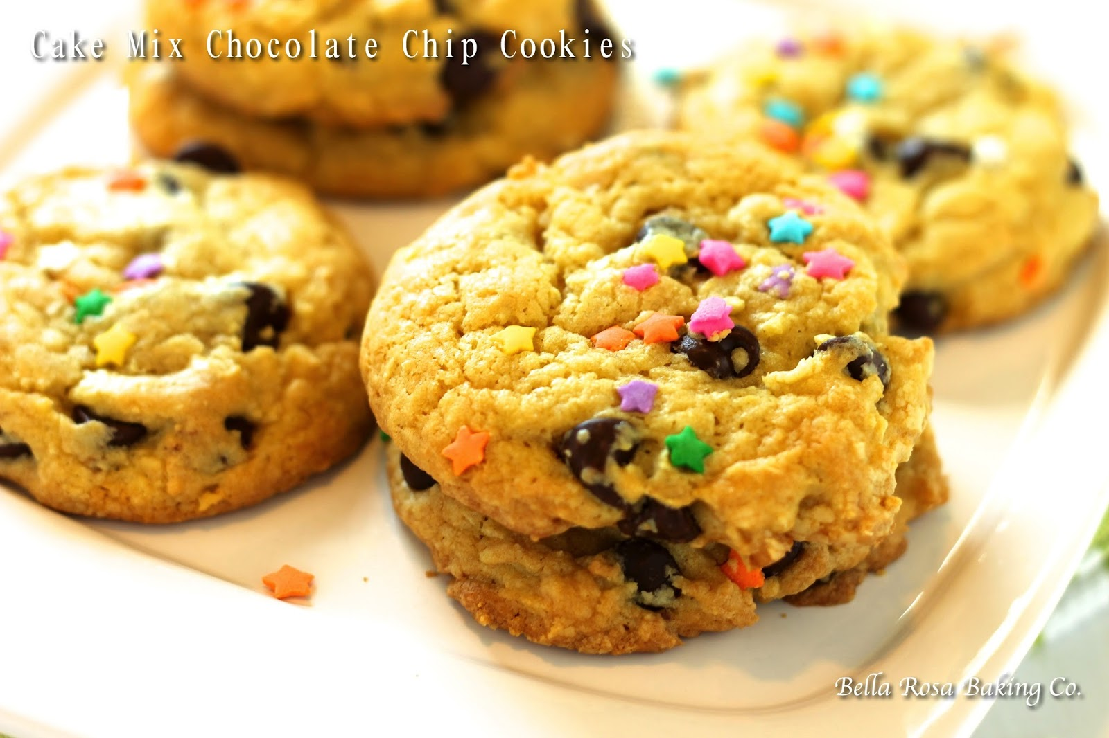 Duncan Hines Recipe Yellow Cake Mix With Chocolate Chip Cookies