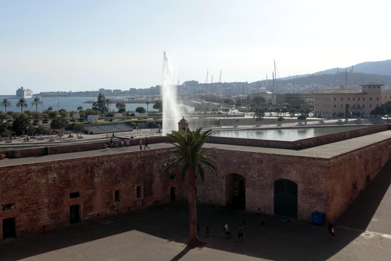 Vistas del puerto de Palma de Mallorca