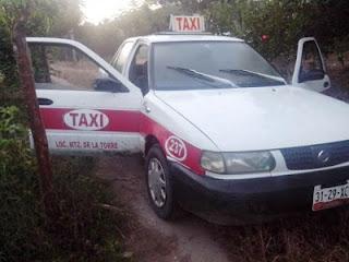 Ejecutan a taxista en Martínez de la Torre