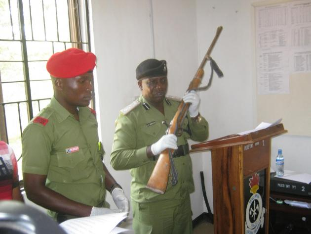 Bunduki iliyotungua Helkopta na Kuua Mzungu yapatikana Simiyu.