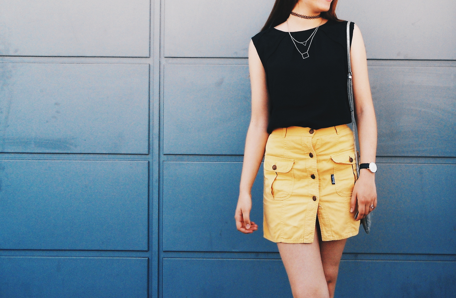outfit | Vintage skirt