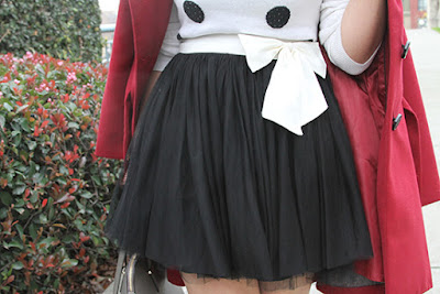 Forever 21 Black Tulle Skirt