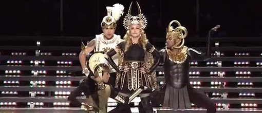 Madgina's half time performance at the Superbowl | Madonna