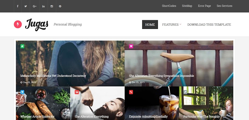 Jugas Free Blogger Template