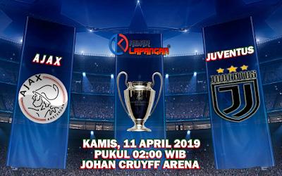 Prediksi Bola Ajax vs Juventus 11 April 2019