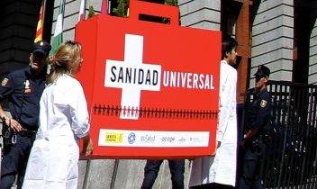 Tarjeta cobertura Sanitaria Universal