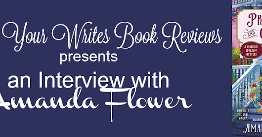 An interview with cozy mystery author Amanda Flower