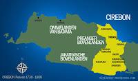 Peta Kerajaan Cirebon