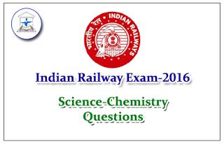 Railway Exam GK Quiz (Science-Chemistry)