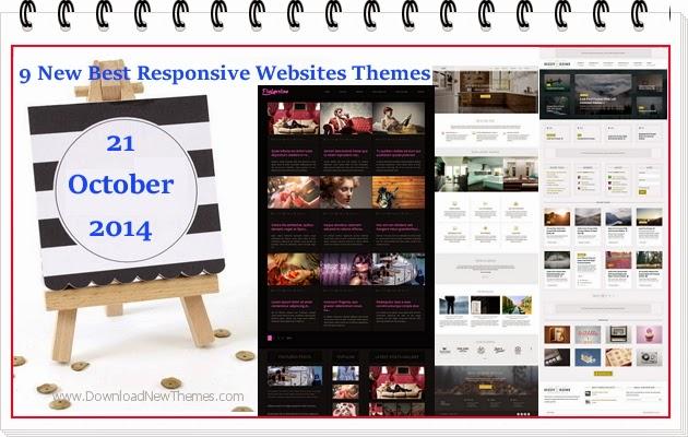 Premium Best Responsive Websites Themes