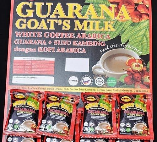 Produk guarana: Susu Kambing Guarana, kelebihan, kebaikan, manfaat, khasiat buah guarana, kandungan dalam buah guarana, gambar buah guarana, gambar produk guarana, kopi guarana, kapsul guarana