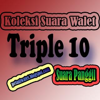 Suara Panggil Triple 10