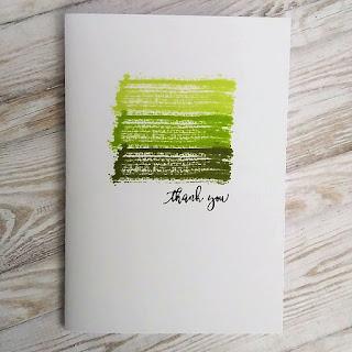 CAS Thank you card