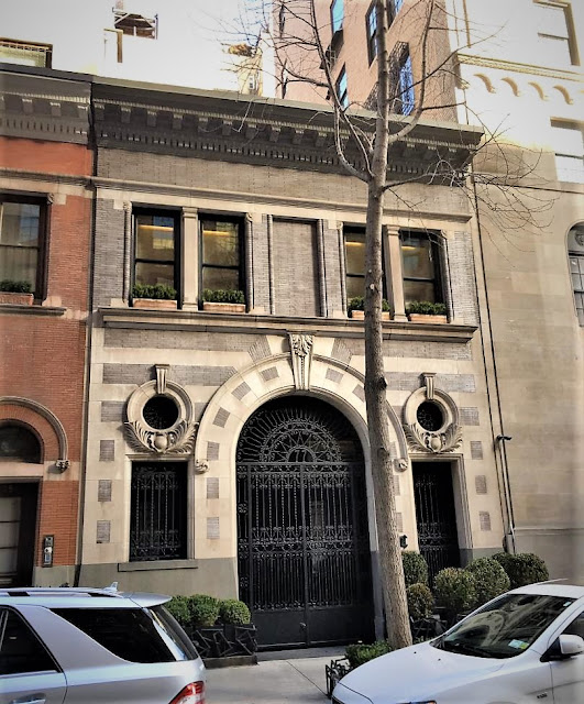 The George T. Bliss Carriage House - 77 East 77th Street
