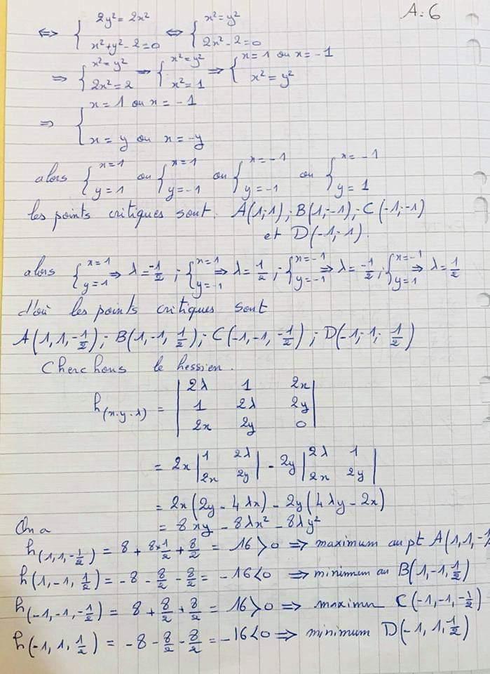 Examen Corrige Analyse Mathematique S1 Economie Fsjes Ofppt Cours