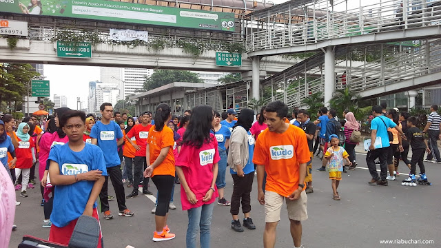 Kemeriahan Car Free Day Bersama Kudo Indonesia