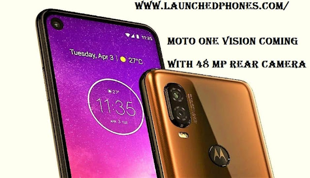 mobile outcry tin last launched shortly amongst the punch Motorola One Vision or Moto P40 is coming