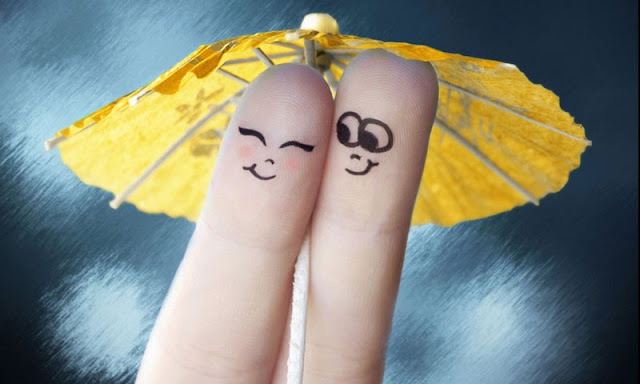 hình ảnh về tình yêu đẹp lãng mạn dễ thương, ngón tay vẽ người