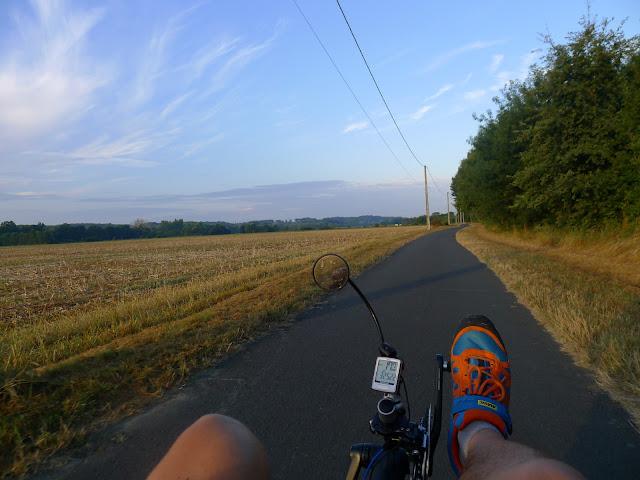 De Paris à la Rochelle en vélo couché, La Loir à Vélo