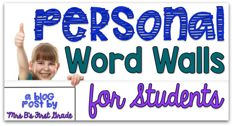 word personal wall students grade mrs
