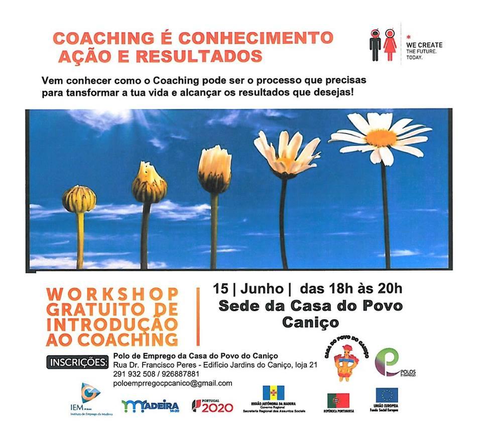 Workshop gratuito de Introdução ao Coaching – Caniço (Madeira)