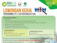 Lowongan Kerja RSI Sultan Agung - Deadline 22 Desember 2018