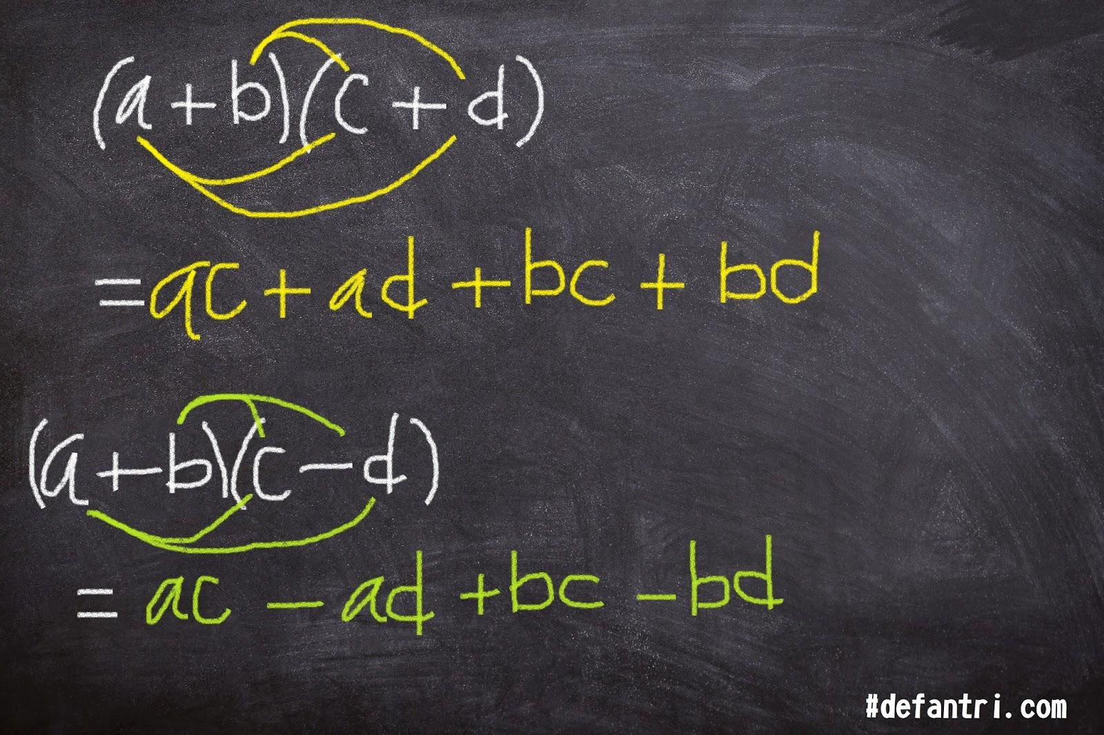 Matematika Rekreasi: Pembuktian Perkalian Dua Suku dengan Satu atau Dua Suku