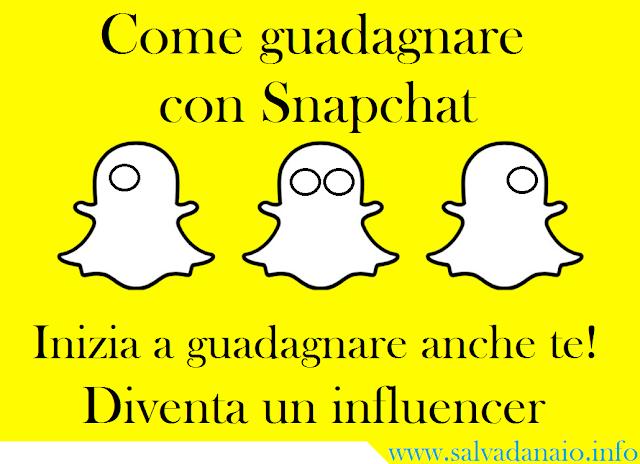 Come guadagnare con Snapchat: guadagna anche te!