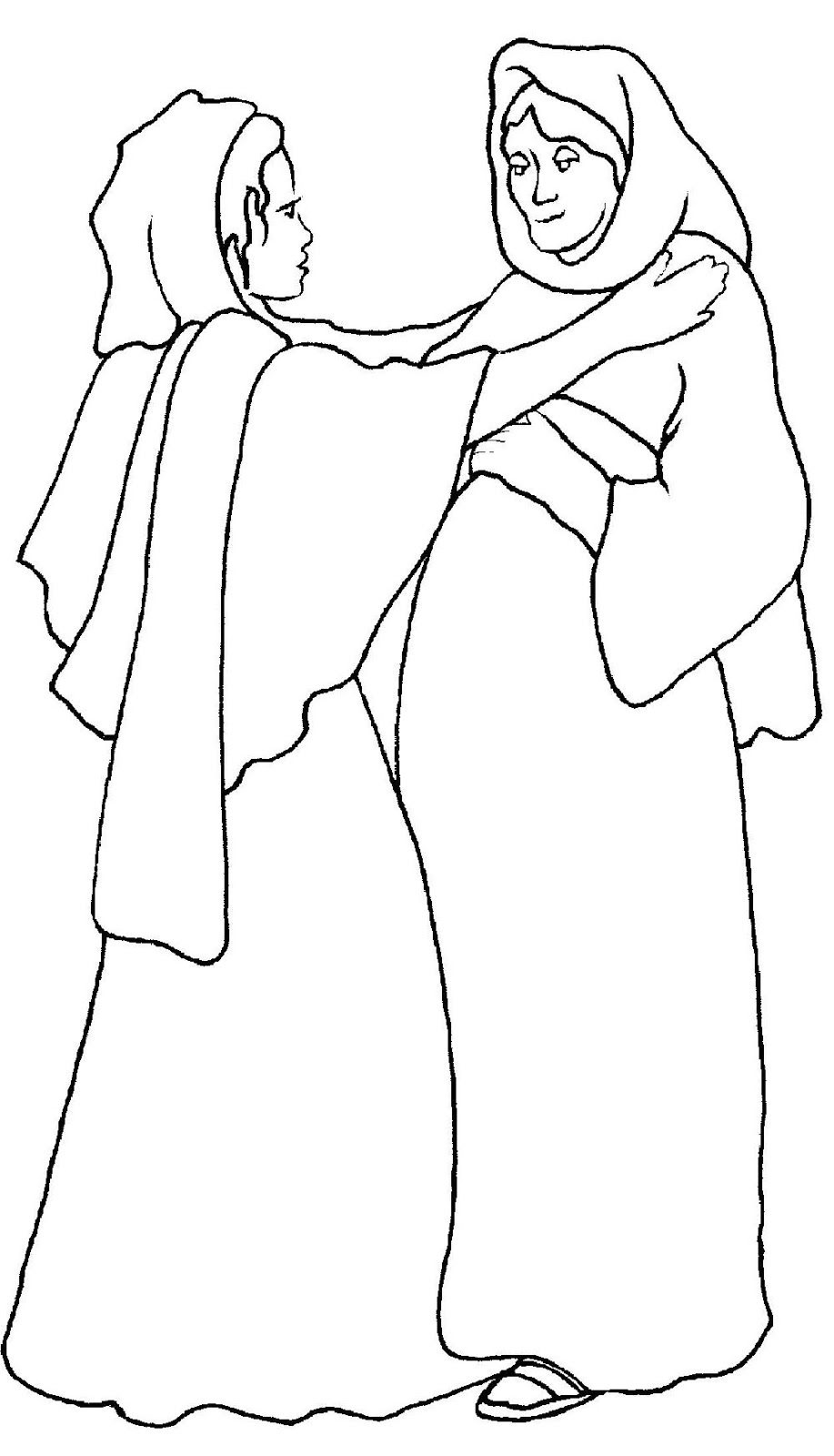 hail mary coloring pages - photo #23