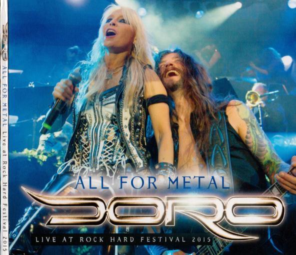 DORO - All For Metal + Live [Rock Hard Magazine CD] (2018) full