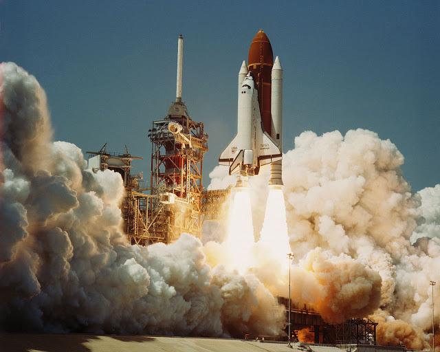 Decolagem da Challenger aconteceu em 1986