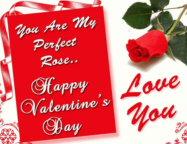 valentine, valentine roses, valentine day messages with pictures, sweet valnetine roses message