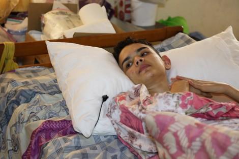 Ouledberhil 24 اولادبرحيل:نتيجة حادث مروري .. التعفن يأكل أطراف شاب مصاب بشلل نصفي