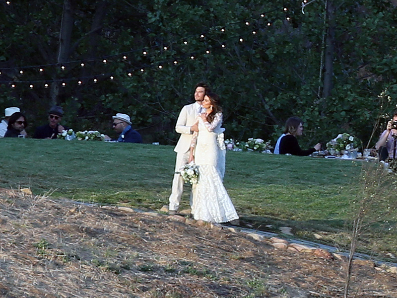 Ian Somerhalder and Nikki Reed tie the knot in Santa Monica