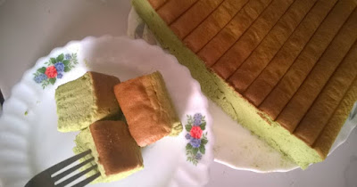 Green Tea Ogura cake