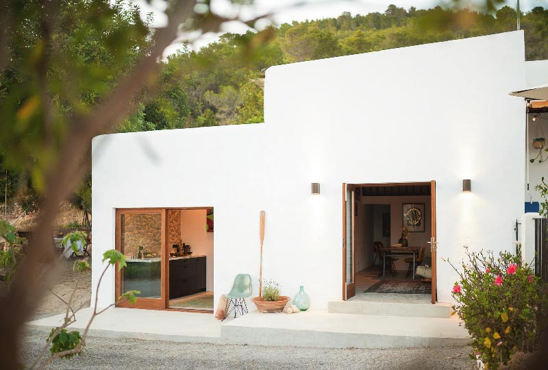 The little house in the campo Ibiza