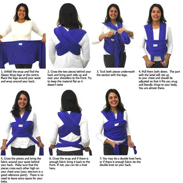 Baby wrap safety instructions, support & holds for infants – boba.
