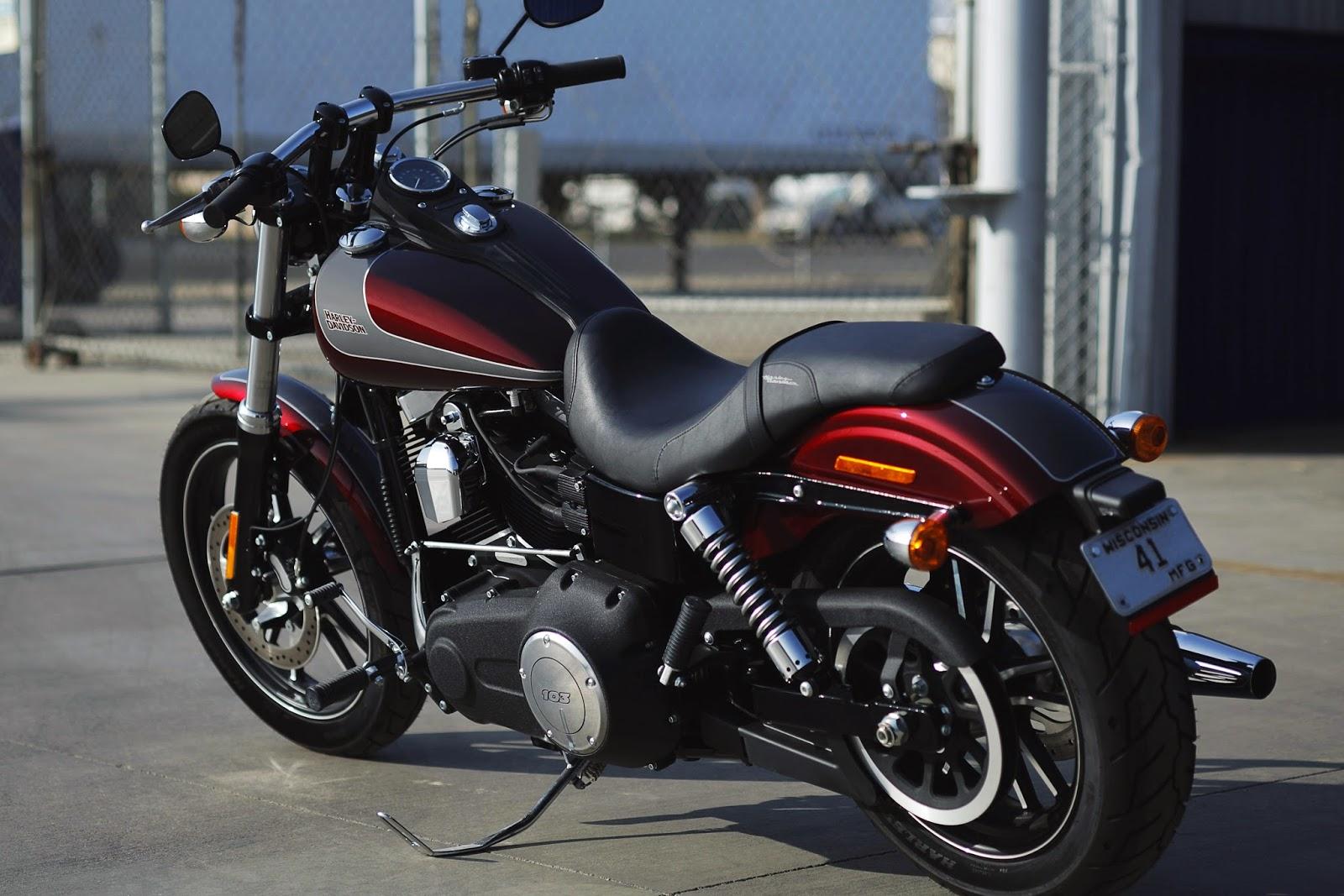 Racing Cafè: HarleyDavidson Dyna Street Bob Special Edition 2014