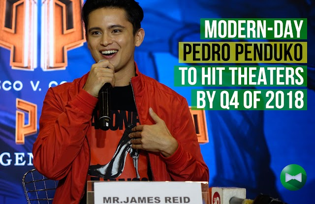 Modern-day Pedro Penduko to hit theaters by Q4 of 2018