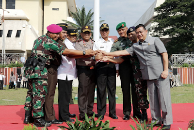 Pjs. Gubernur Ingatkan Pentingnya Tiga Pilar Kamtibmas