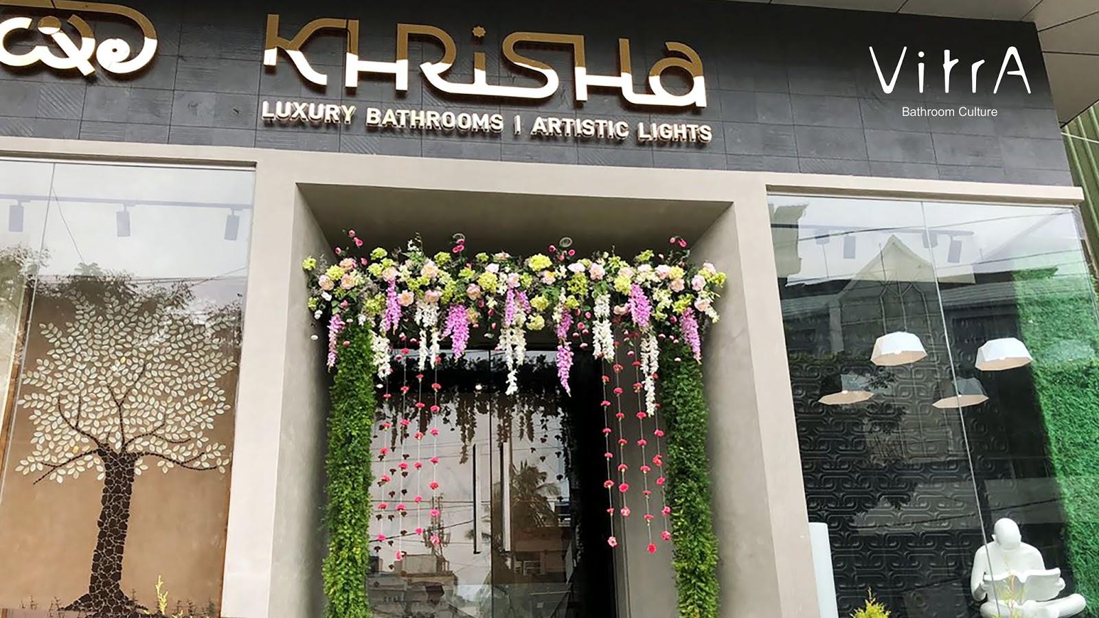 new showcase of vitra bathrooms at khrisha showroom bangalore