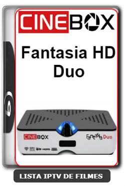 Cinebox Fantasia HD Duo Nova Atualização Correção Nas Keys SKS 61w - 11-02-2020