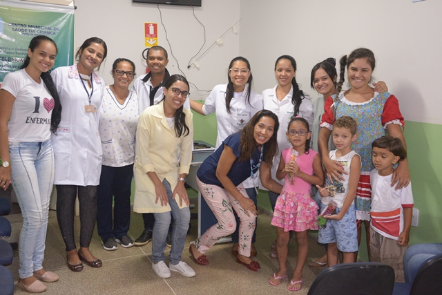 Centro Municipal de Saúde da Criança Emilly Raquel desenvolve o Projeto 'Níveis de atenção à criança, conscientização com humor e amor'